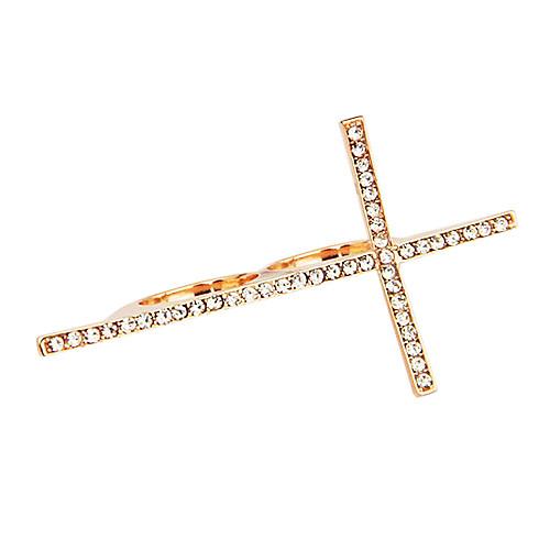 Сплав Циркон крест-накрест Дважды кольца (разных цветов) Lightinthebox 171.000