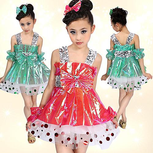 Производительность танцевальная пластика с блестками платье танца балет для детей (другие цвета) Lightinthebox 837.000