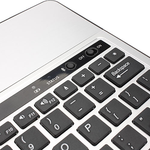 Алюминиевая крышка Bluetooth 3.0 клавиатура для планшетных Ниже 10.1