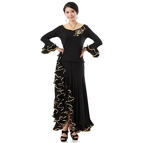 Производительность Красивые танцевальная одежда вискоза современного танца Топ Снаряжение и юбки для женщин Lightinthebox 1774.000