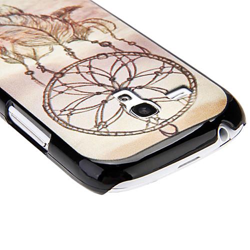 Перо Pattern Жесткий чехол для Samsung Galaxy I8190 Lightinthebox 128.000