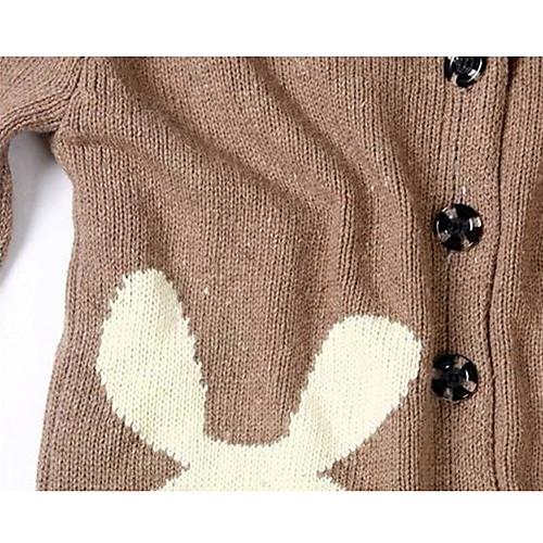 Женские повседневные свитера для печати Кролика