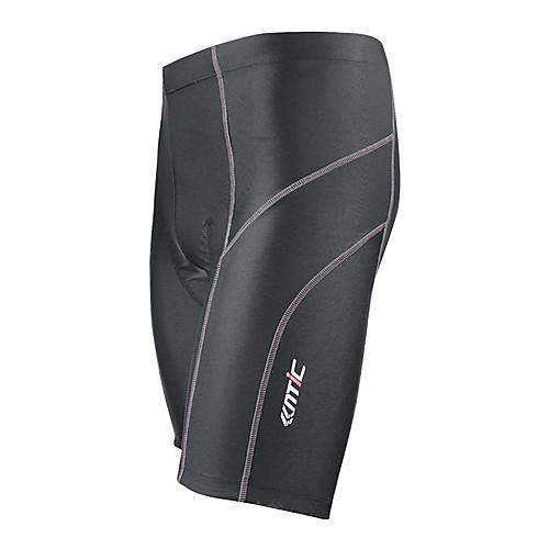 MC05042 Santic высококачественной мужской дышащий материал Coolmax Велоспорт 1/2 Брюки - черный Lightinthebox 1718.000