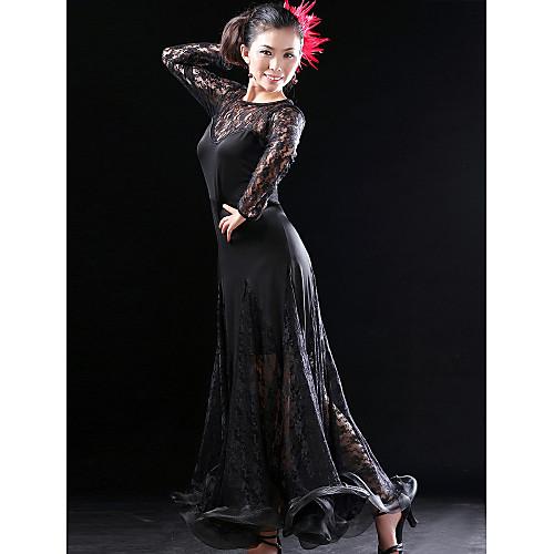 Платье танцевальное из вискозы с кружевом Lightinthebox 2577.000