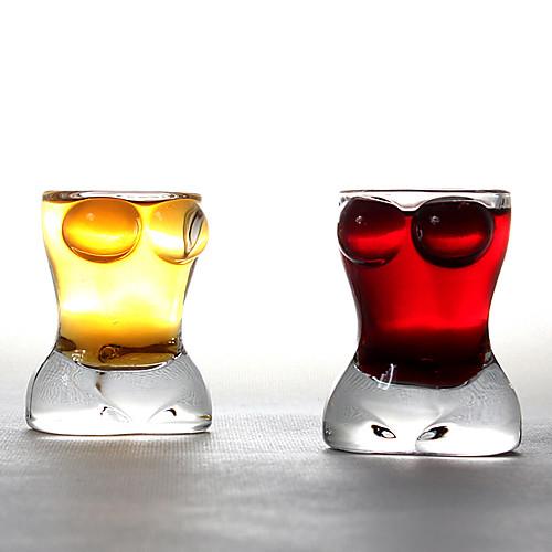 комплект из 2 соблазнительные красотки красные бокалы Номера для двухслойных Lightinthebox 644.000