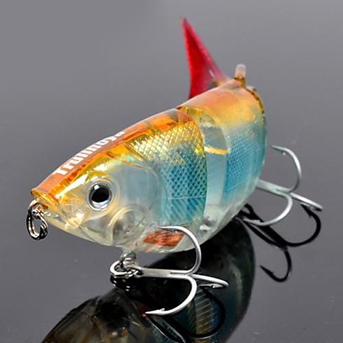 TRULINOYA-Hard Bait Четырехсекционная Minnow 110mm/27g Медленно тонущий прикорм рыболовства (случайный цвет) Lightinthebox 429.000