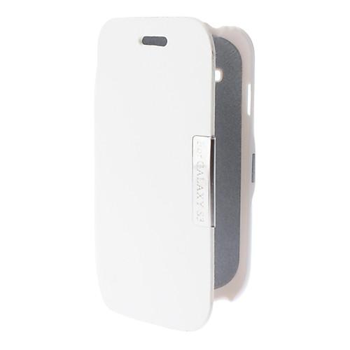 Чехол-флип из кожзама с подставкой для Samsung Galaxy S3 mini-I8190 (цвета в ассортименте) Lightinthebox 257.000