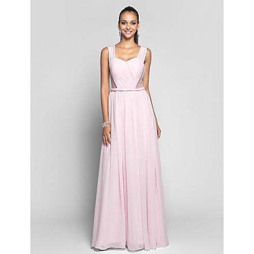 Вечернее платье из шифона и тюля в пол Lightinthebox 5491.000
