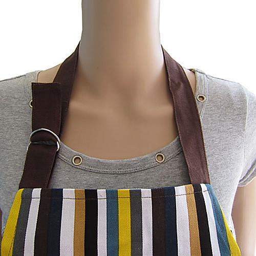Мода милый полосатый фартук холсте Lightinthebox 601.000