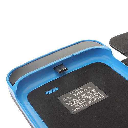 Случай мощность 4200mah для Samsung Galaxy i9500 s4 Lightinthebox 771.000