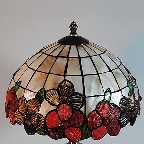 40W Vintage Настольная лампа с природными Pieces Shell Вместе Shade Lightinthebox 6015.000