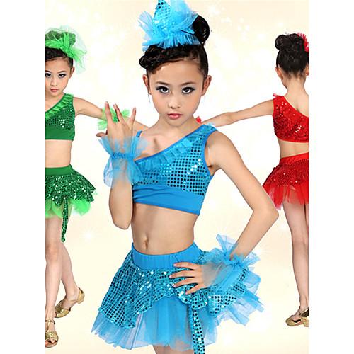 Танцевальная пачка балет довольно спандекс детский с пайетками танцевать наряды (больше цветов) Lightinthebox 1073.000