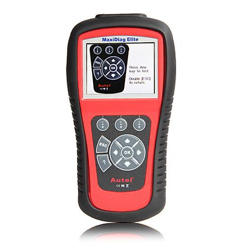 autel MaxiDiag элита md802 код автомобиля диагностический прибор для всех систем с применением ЭЦП модели OBD Lightinthebox 16371.000