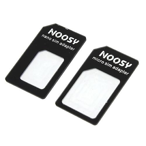 Nano SIM-карты в Micro / Стандартный адаптер SIM-карты Набор для iPhone 5 и другие Lightinthebox 38.000