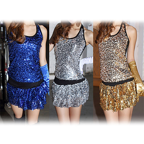 Производительность танцевальная одежда полиэстер с блестками наряды джазовый танец для женщин (больше цветов) Lightinthebox 1052.000