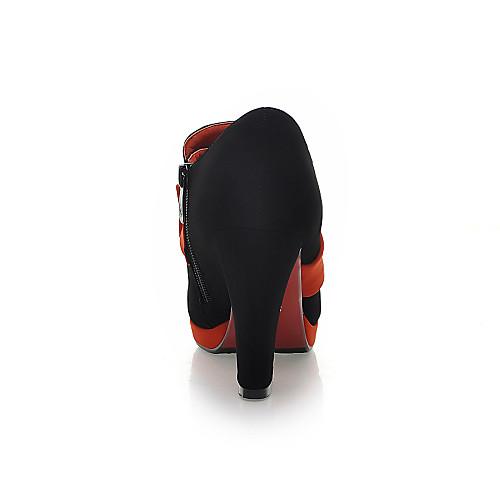Сказочные замши коренастый пятки ботильоны с бантом партии / вечерние туфли (больше цветов) Lightinthebox 2148.000