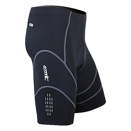 Santic мужские велоштаны 1/2 из дышащего материала Coolmax (черные) Lightinthebox 1159.000
