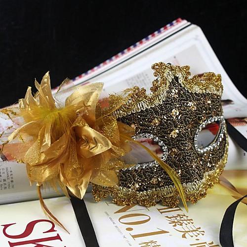 Делюкс ПВХ венецианского аристократа Половина маска Lightinthebox 300.000