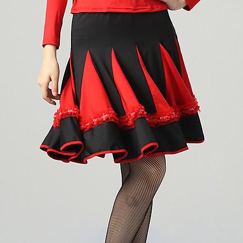 Танцевальная одежда вискоза Сексуальная латинского танца юбка для дам (другие цвета) Lightinthebox 1219.000