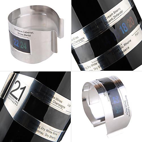 Браслет-термометр из нержавеющей стали для винных бутылок Lightinthebox 214.000