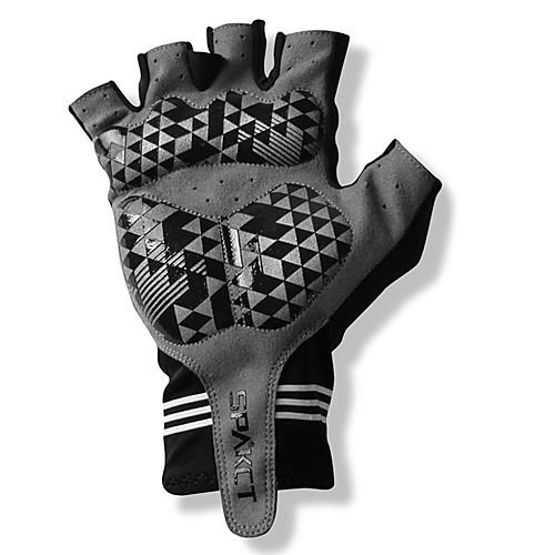 Spakct S13G03 прочный полиэстер и Vinylal Половина Finger перчатки Материалы для дизайна Велоспорт Bicycle_Black Lightinthebox 589.000