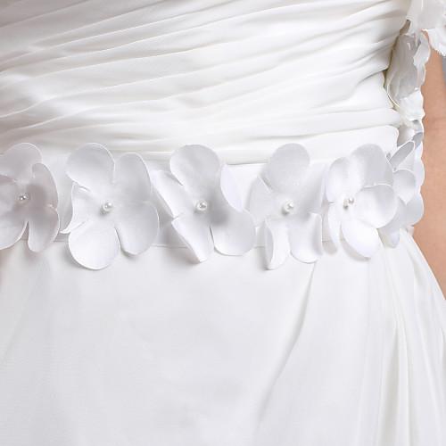 Хорошие женщины атласные свадебные ленты створки с цветками (другие цвета) Lightinthebox 506.000