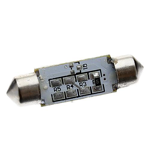 Гирлянда 39mm 1W 56LM 3x5050SMD Ice Blue Светодиодная лампа для чтения / номерного знака (12) Lightinthebox 128.000