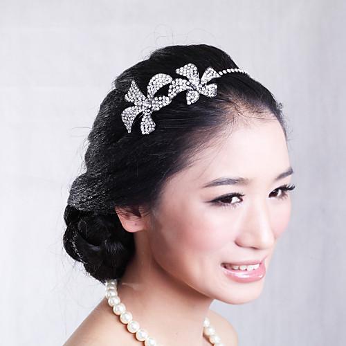 Элегантный ободки латунь с горный хрусталь для свадьбы / специальные заставки Повод Lightinthebox 979.000