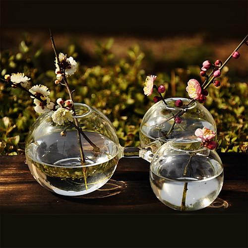Творческие связи центральным круглым стеклянной вазе Lightinthebox 450.000