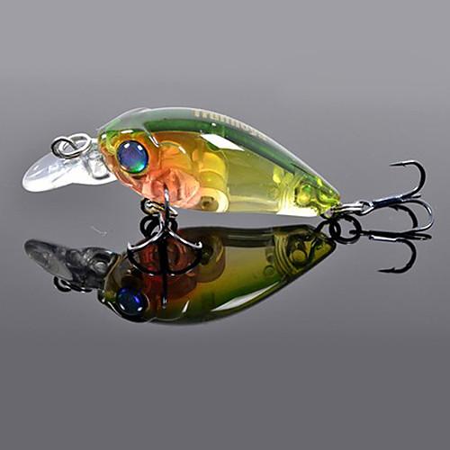 TRULINOYA-Hard Bait Мини Crank 35mm/3.5g/1.2m рыболовную приманку (случайный цвет) Lightinthebox 214.000