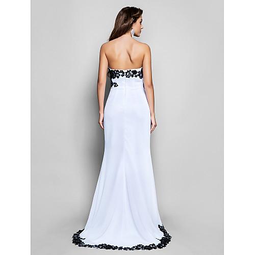Асимметричное шифоновое вечернее платье русалка Lightinthebox 10742.000