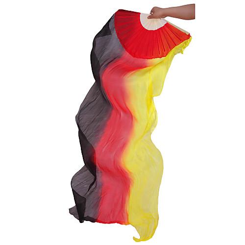 стильные шелковые многоцветные вентилятора танцульки живота для дам (больше цветов) Lightinthebox 773.000