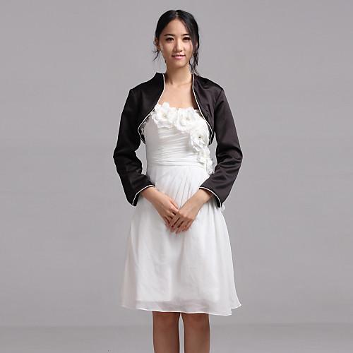 Nice 3/4 рукавом атласные вечерние / Повседневная Wrap / куртка (другие цвета) Lightinthebox 751.000