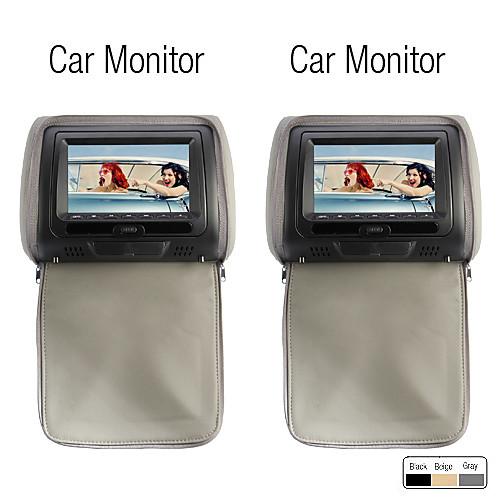 Автомобильный, 7-дюймовый DVD-плеер с поддержкой игр, карточка SD (1 пара), для подголовника от Lightinthebox.com INT