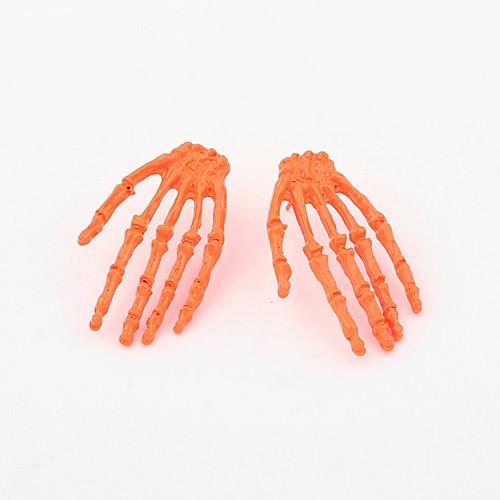 Мода сплава скелетных форму руки серьги стержня (больше цветов) Lightinthebox 64.000