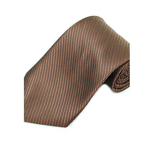 Стильный Oblique человека Stripes Тканые галстук