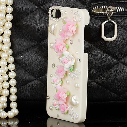 Полимерная глина цветочным орнаментом Назад Чехол для iPhone 4/4S Lightinthebox 171.000