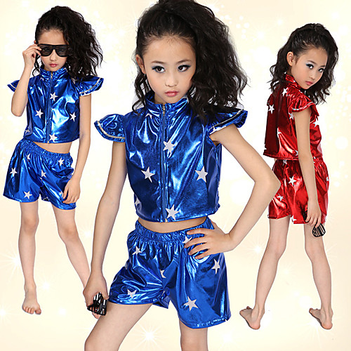 Производительность танцевальная одежда Красивые лакированной кожи джаз Танцевальная наряды для детей (другие цвета) Lightinthebox 837.000