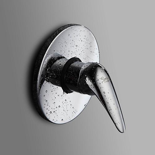 посыпать  от LightInTheBox - одной ручкой хром Настенный смеситель для душа Lightinthebox 2234.000