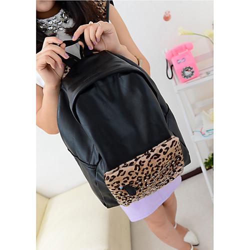 Мода Повседневная Leopard заклепки Модный рюкзак Lightinthebox 1082.000