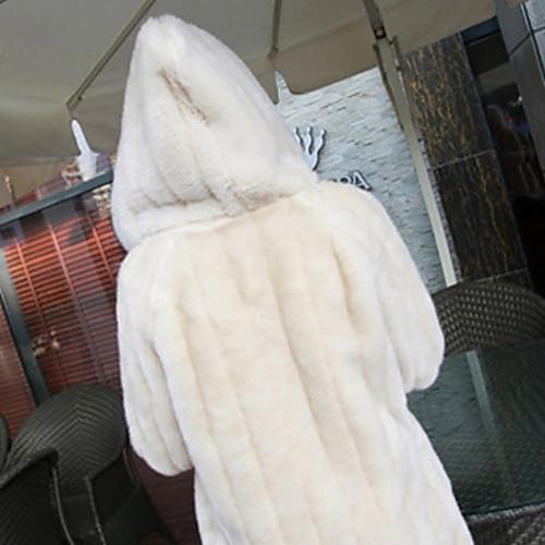 Толстые длинным рукавом с капюшоном Воротник искусственного меха партии / случайных пальто (больше цветов) Lightinthebox 1881.000