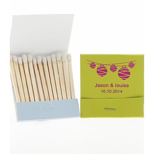 Персонализированные Спичечных коробках Фонари-набор из 12 (больше цветов) Lightinthebox 264.000
