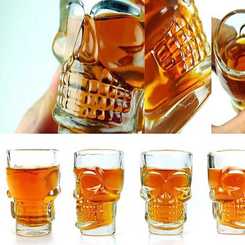 Креативный набор шотов в форме черепа (4 штуки) Lightinthebox 558.000