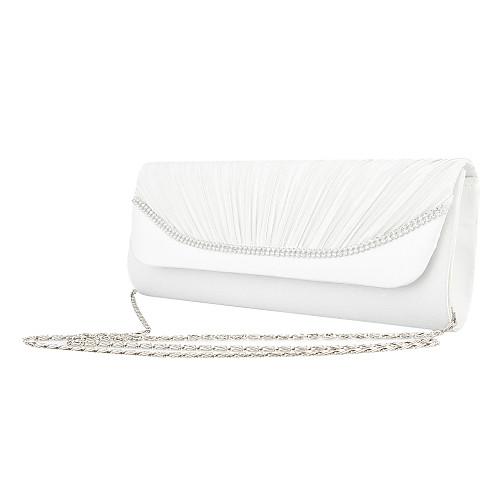 Специальные атласа с непромокаемой ткани и Rhinestone особых поводов / Свадебные вечерние сумочки / муфты Lightinthebox