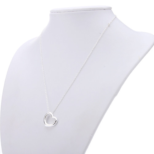 Сердце 925 серебряных украшений ожерелье серьги Костюм Lightinthebox 343.000