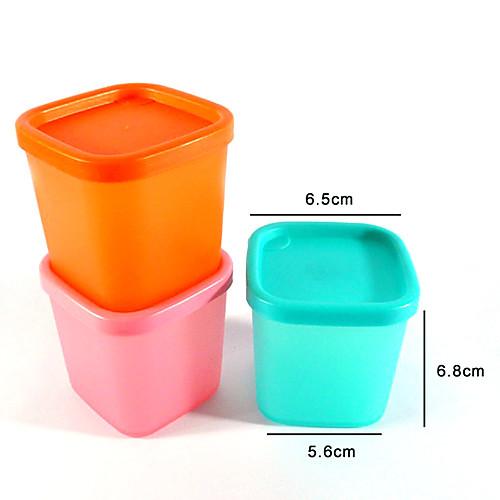 230 мл Многофункциональная микроволновая печь холодильник мини пластиковых контейнеров Свежий хранения продуктов с крышкой Lightinthebox 85.000