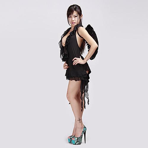 Сексуальный Демон Ангел Платье Хеллоуин костюм (2 шт) Lightinthebox 858.000