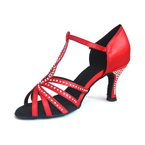 Индивидуальные атласа с горный хрусталь обувь Верхний женский танец (другие цвета) Lightinthebox 2148.000