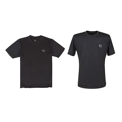 Короткие рукава LangZuYouDang Человека Quick Dry футболки (черный, белый) Lightinthebox 406.000