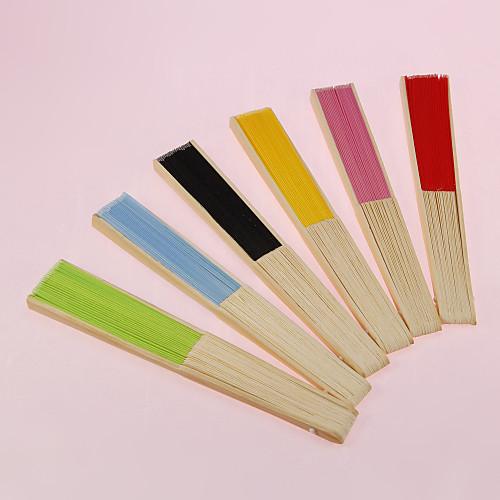 Веер классический из хлопка и бамбука (цвета в ассортименте) Lightinthebox 171.000